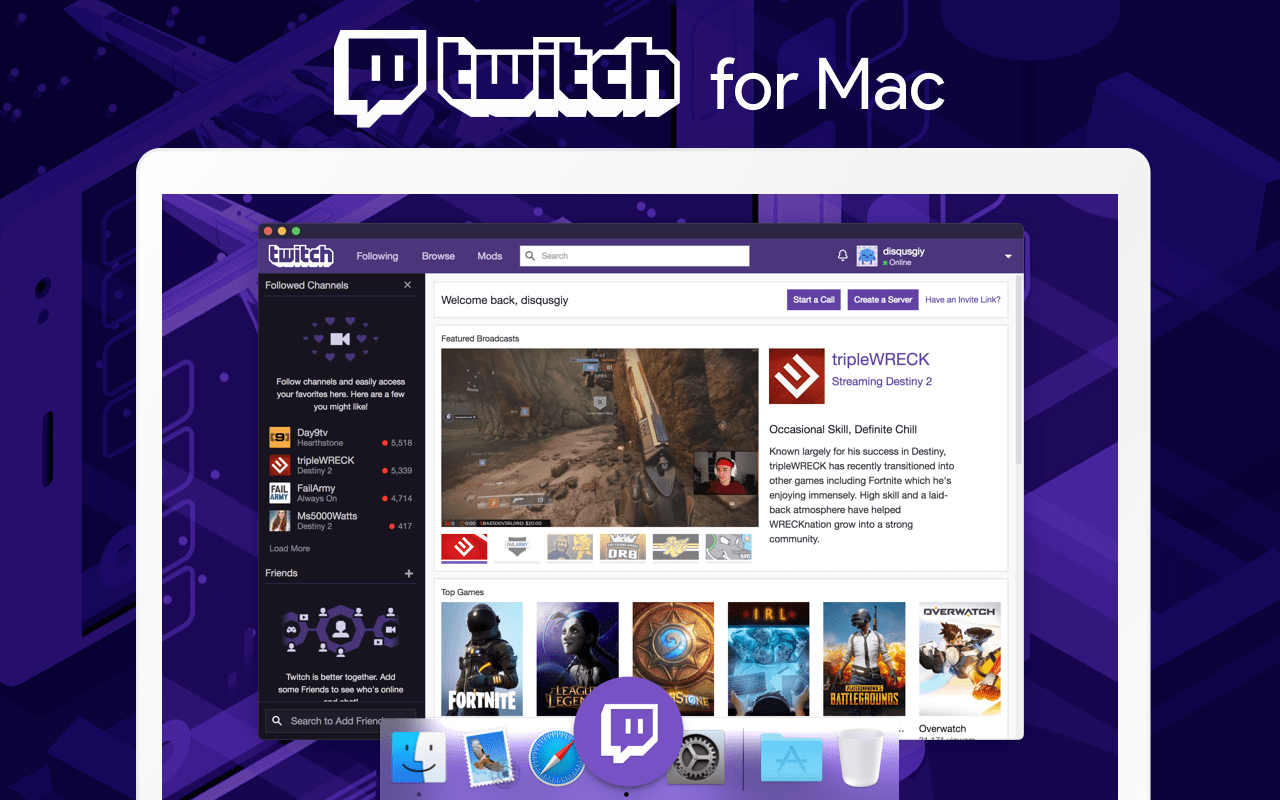 Twitch for Mac - Download
